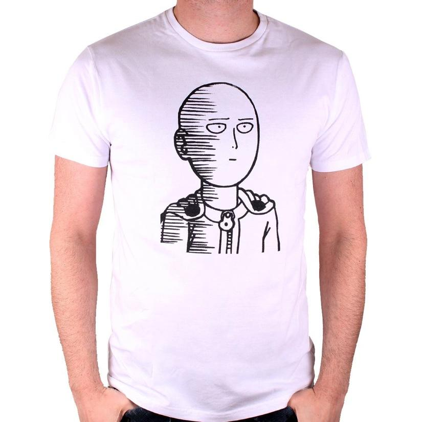ONE PUNCH MAN - T-Shirt Saitama Draw (S)