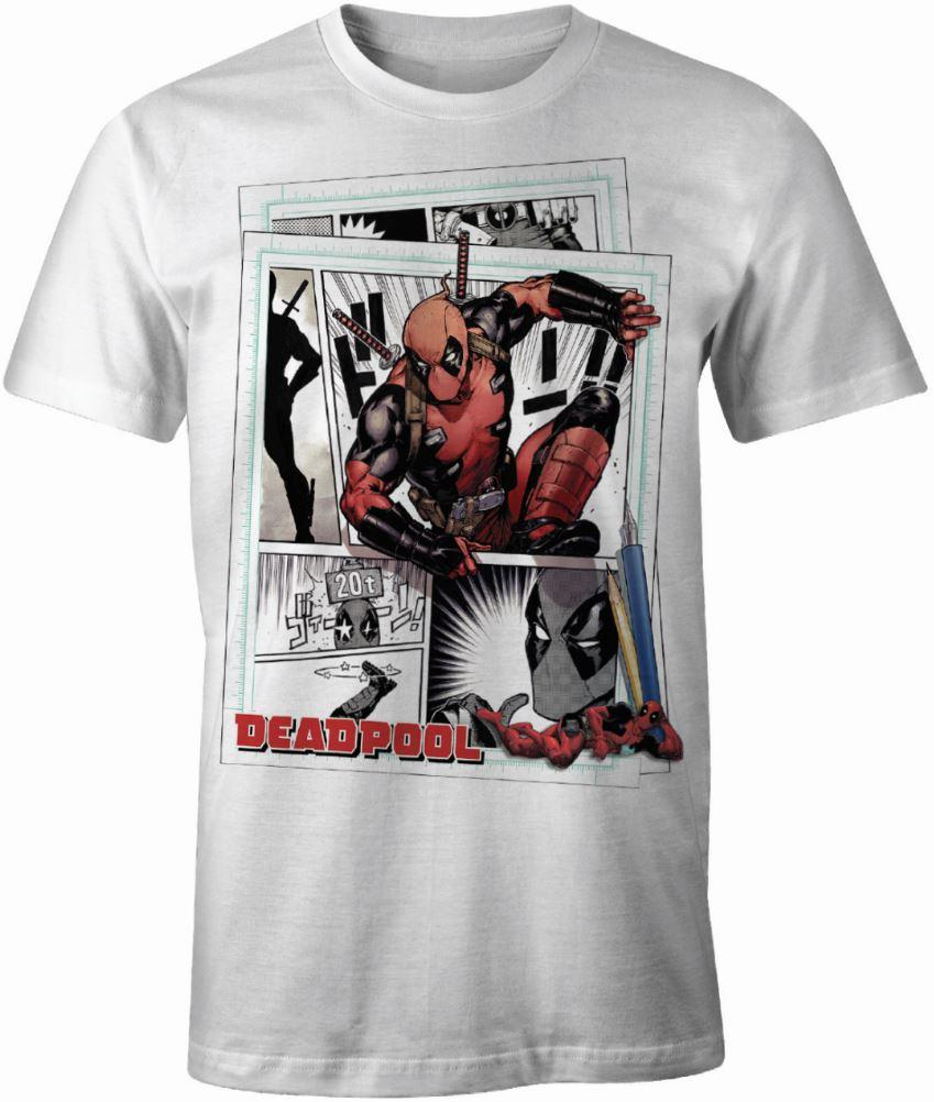 DEADPOOL - MARVEL T-Shirt Cartoon (S)