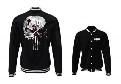 MARVEL - Blouson Teddy Punisher Skull (XXL)