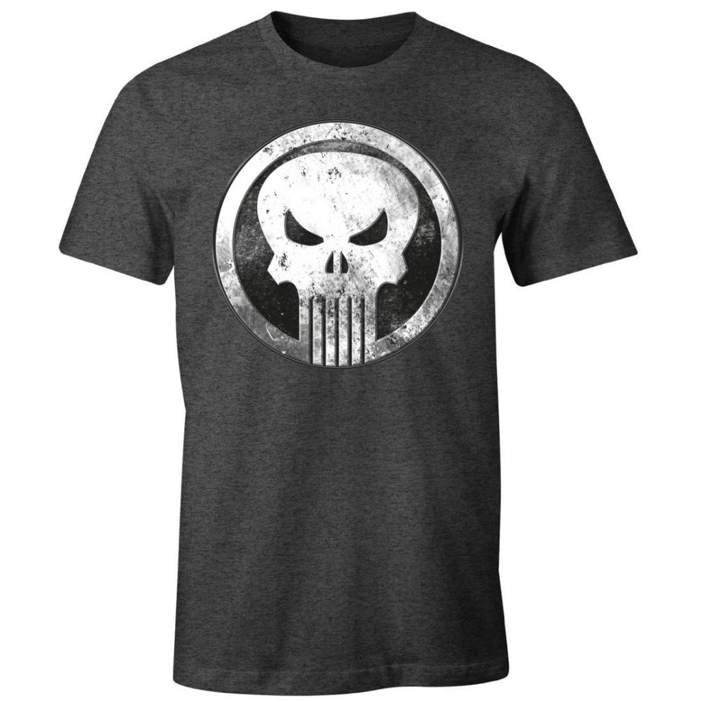 MARVEL - T-Shirt Logo Punisher Vintage (S)