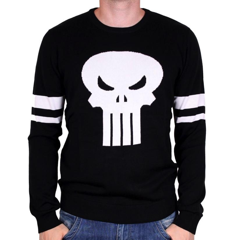 MARVEL - Pull Over - Punisher Logo (L)