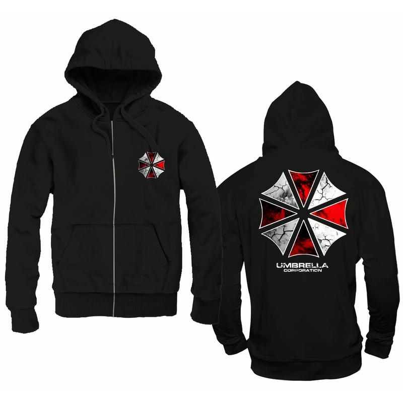 RESIDENT EVIL - Sweat The Umbrella Corporation Hoodie (L)