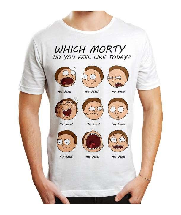 RICK & MORTY - T-Shirt Morty Emotion (S)