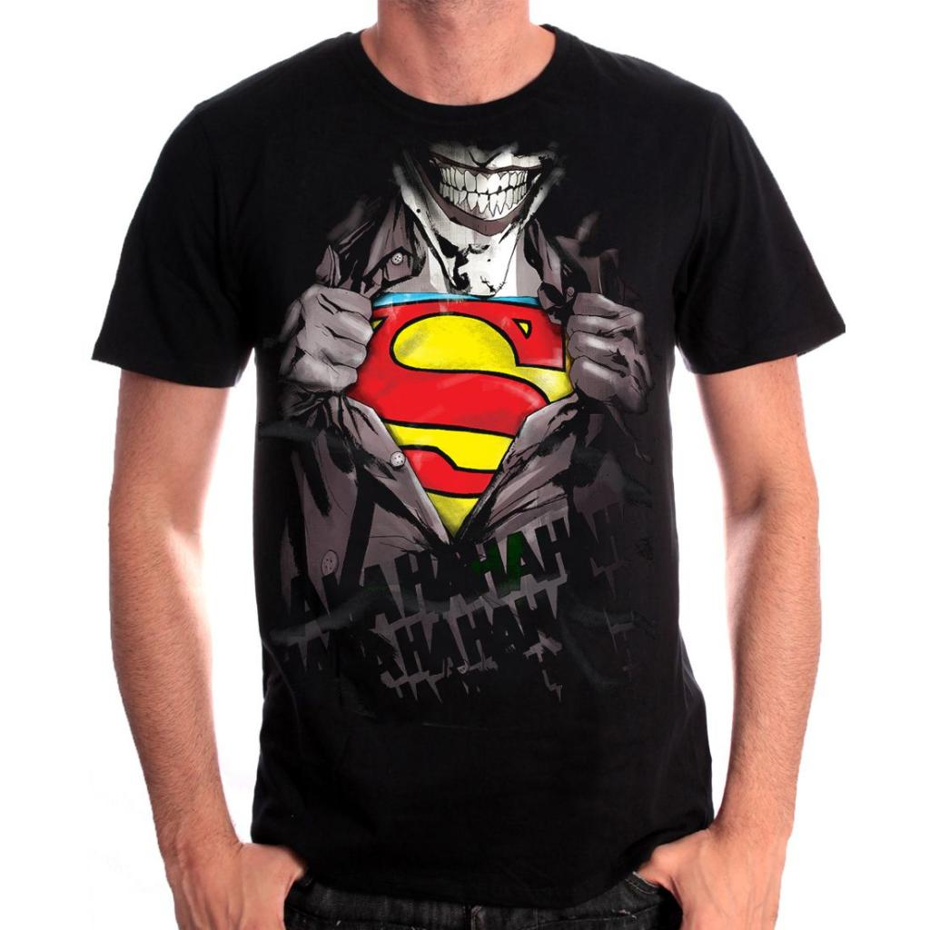 DC COMICS - T-Shirt Joker Vs Superman (S)