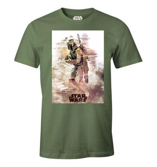 STAR WARS - T-Shirt - Boba Fett - (XXL)