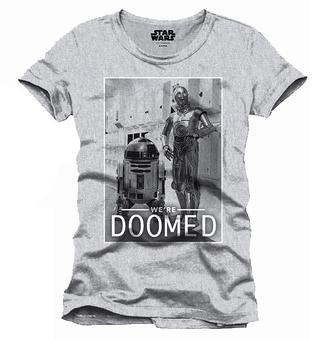 STAR WARS  - T-Shirt We Are Doomed (L)