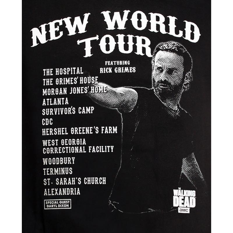 THE WALKING DEAD - T-Shirt New World Tour (S)_2