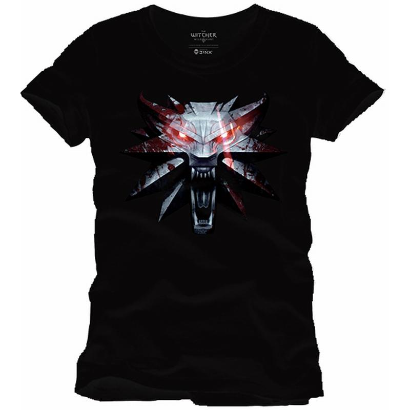 THE WITCHER - T-Shirt Medaillon (L)