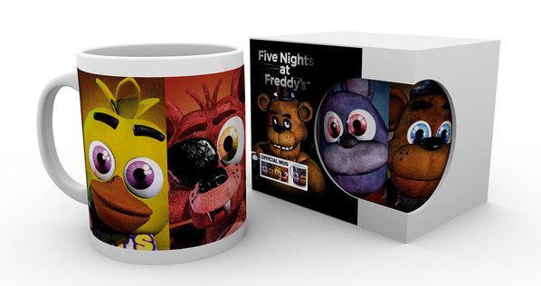 FIVE NIGHTS AT FREDDY'S - Mug - 300 ml - Faces