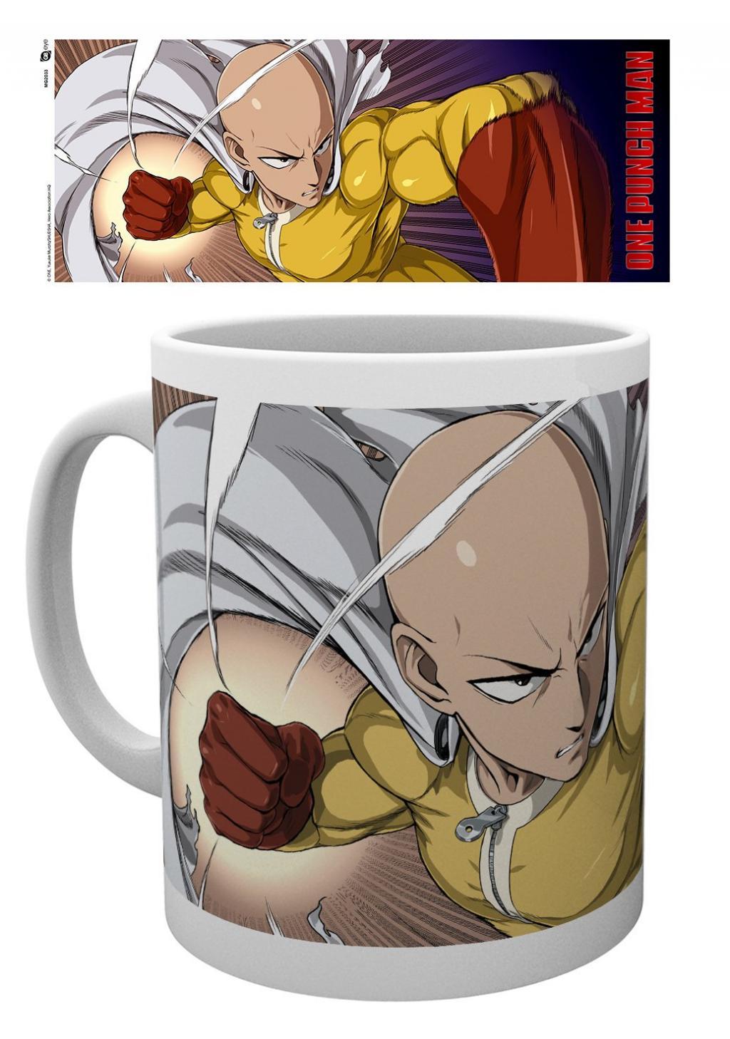 ONE PUNCH MAN - Mug - 315 ml - Saitama Punch
