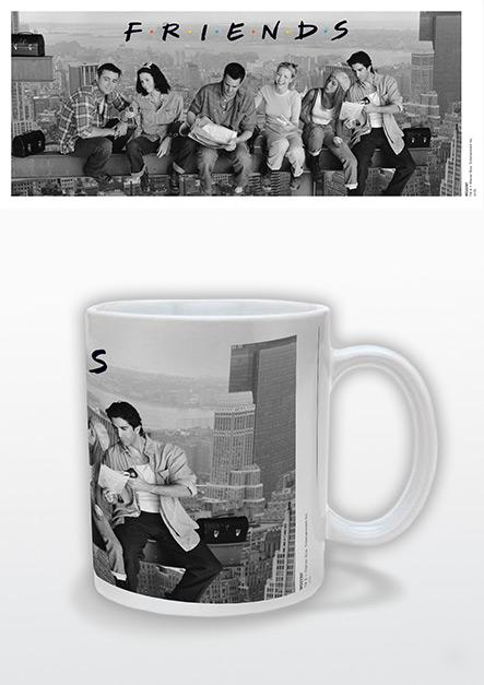 FRIENDS - Lunch On A Skyscraper - Mug 315ml