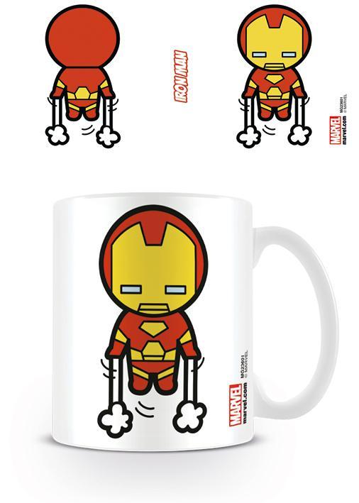 MARVEL - Mug - 315 ml - Kawaii Iron Man