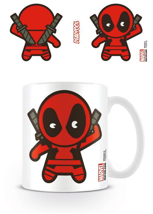 MARVEL - Mug - 315 ml - Kawaii Deadpool