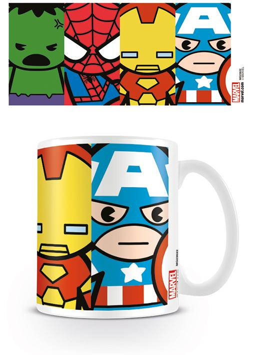 MARVEL - Mug - 315 ml - Kawaii Avengers
