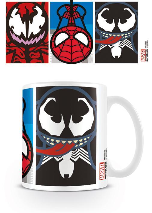 MARVEL - Mug - 315 ml - Kawaii Spider-man Villians