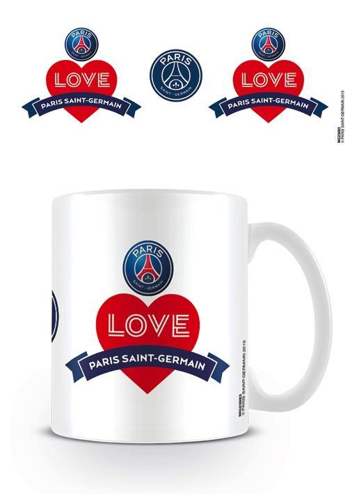PSG - Mug - 300 ml - I Love PSG