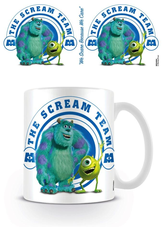 DISNEY PIXAR - Mug - 300 ml - Monsters Inc Scream Team