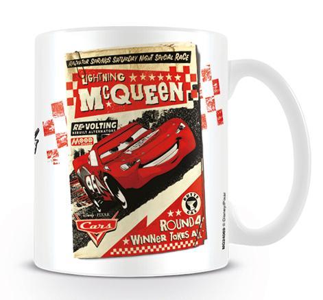DISNEY PIXAR - Mug - 300 ml - Cars Poster