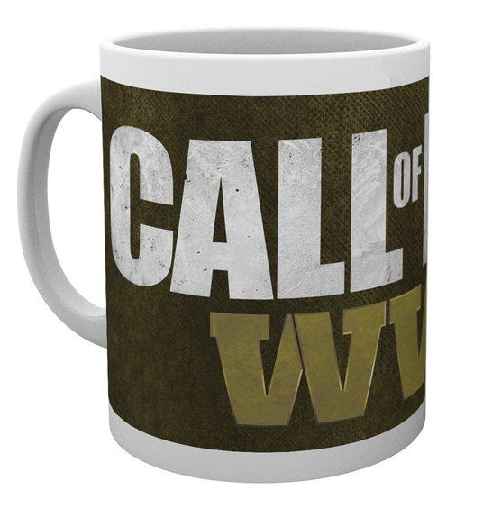 CALL OF DUTY WWII - Mug - 300 ml - Logo