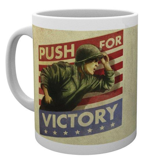 CALL OF DUTY WWII - Mug - 300 ml - Push for Victory
