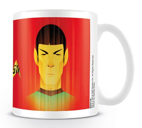 STAR TREK - Mug - 300 ml - Beaming Spock - 50th Anniversary