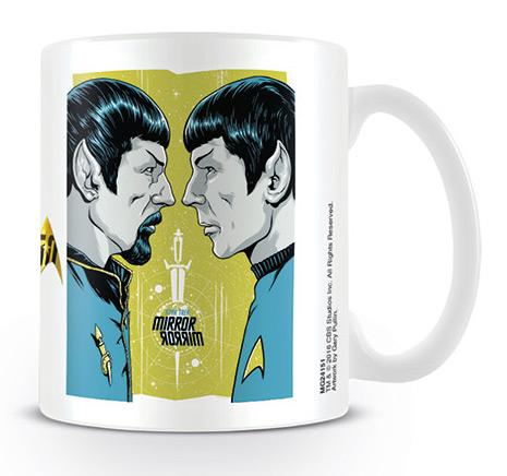 STAR TREK - Mug - 300 ml - Mirror Mirro - 50th Anniversary