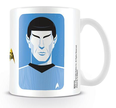 STAR TREK - Mug - 300 ml - Pop Spock - 50th Anniversary