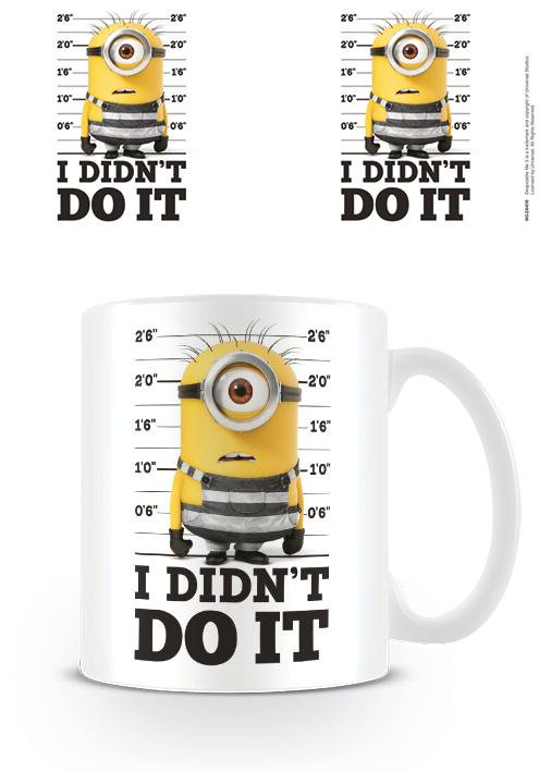 DESPICABLE ME 3 - Mug - 300 ml - I Didn't Do It