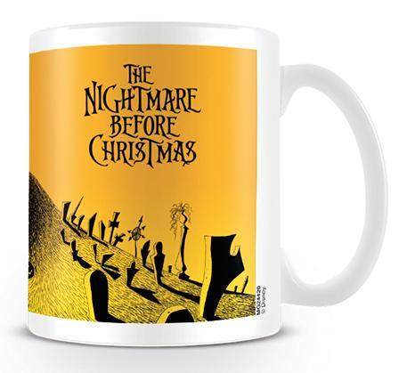 NIGHTMARE BEFORE CHRISTMAS - Mug - 315 ml - Graveyard Scene_1