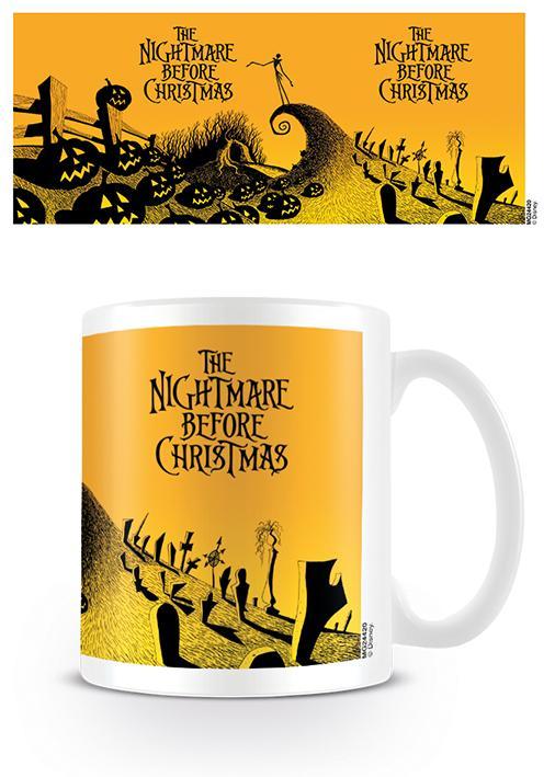 NIGHTMARE BEFORE CHRISTMAS - Mug - 315 ml - Graveyard Scene_2