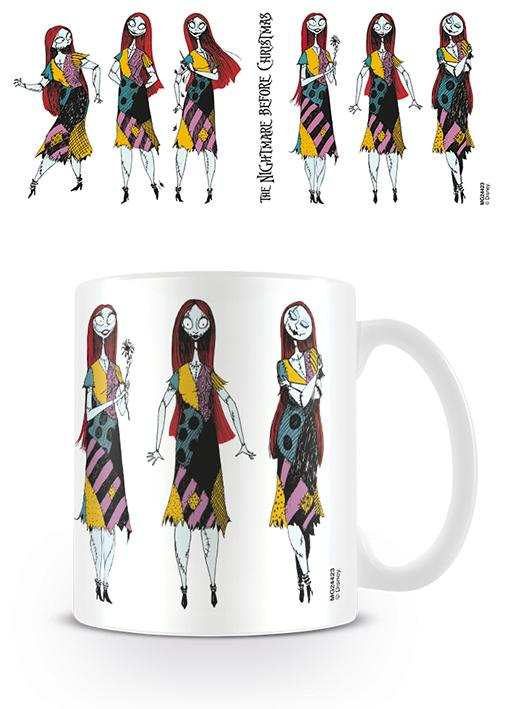 NIGHTMARE BEFORE CHRISTMAS - Mug - 315 ml - Sally Poses_4