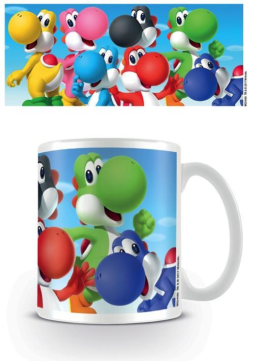 NINTENDO - Mug - 300 ml - Super Mario Yoshi
