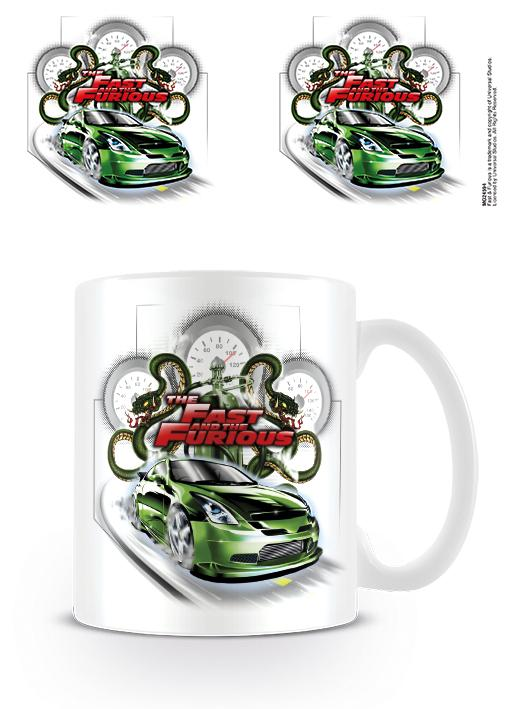 FAST AND FURIOUS - Mug - 300 ml - Speed