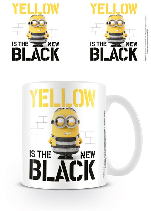 DESPICABLE ME 3 - Mug - 300 ml - Yellow is the New Black