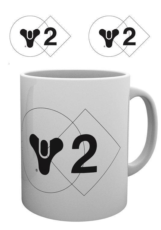 DESTINY 2 - Mug - 300 ml - Logo