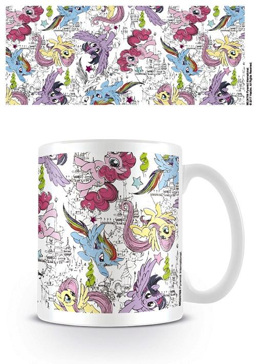 MY LITTLE PONY - Mug - 300 ml - Scribble Ponies