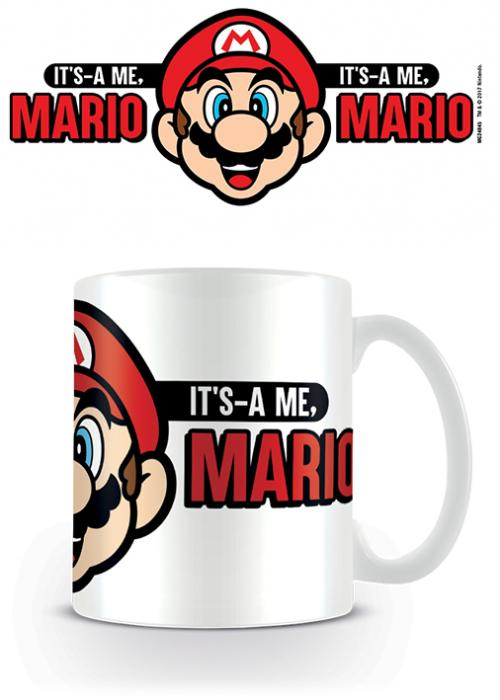 SUPER MARIO - It'as A Me, Mario - Mug 315ml