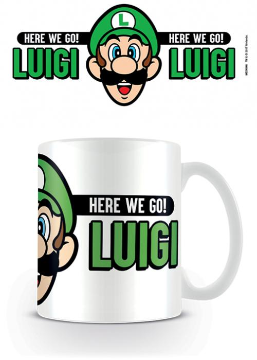 SUPER MARIO - Here We Go! Luigi - Mug 315ml