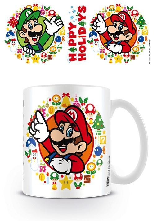 NINTENDO - Mug - 300 ml - Super Mario Happy Holliday