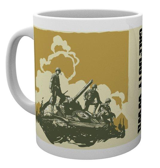 CALL OF DUTY WWII - Mug - 300 ml - Comic