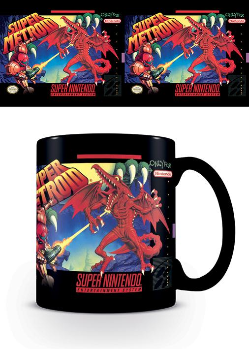 NINTENDO - Mug - 315 ml - Super Nintendo Super Metroid