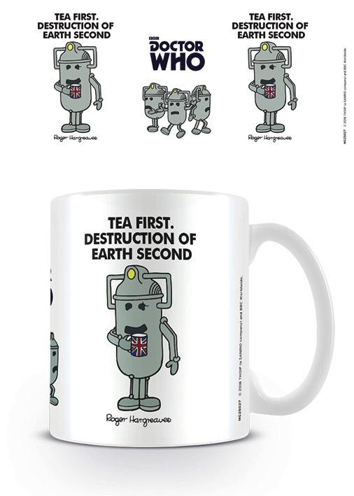 DOCTOR WHO - Mug - 300 ml - Cyberman Tea First