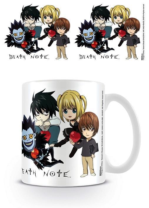DEATH NOTE - Mug - 300 ml - Chibi