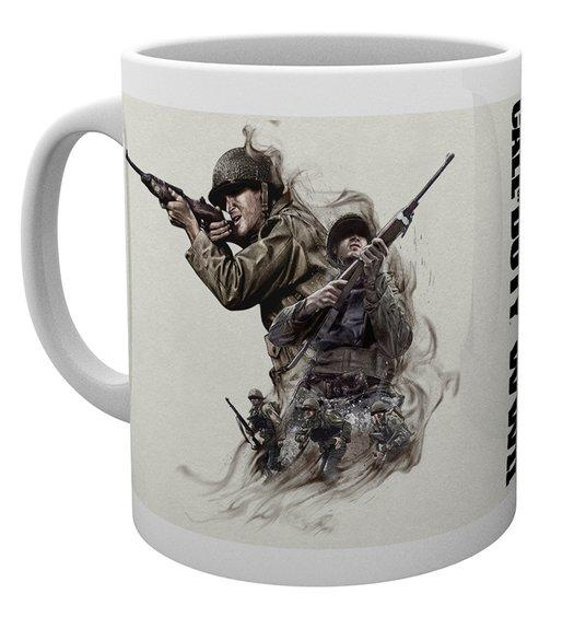 CALL OF DUTY WWII - Mug - 300 ml - Smoke