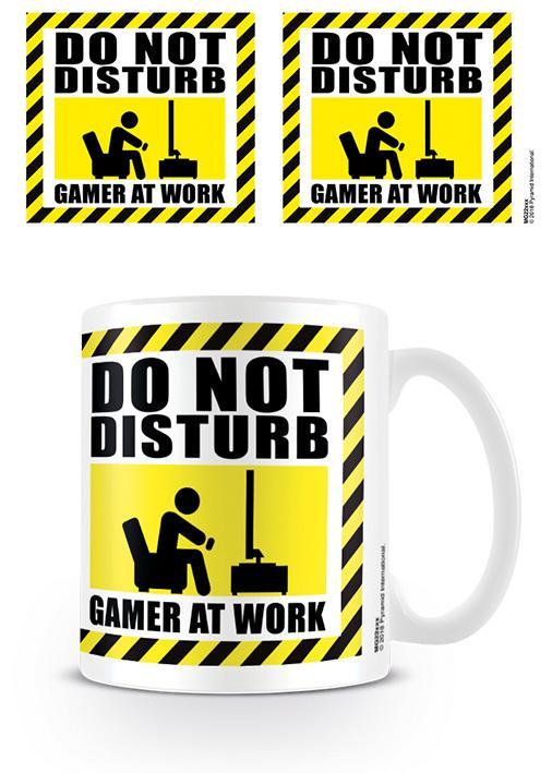 GAMER AT WORK - Mug - 315 ml - Do Not Disturb