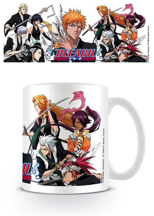 BLEACH - Mug - 300 ml - Soul Society Divided