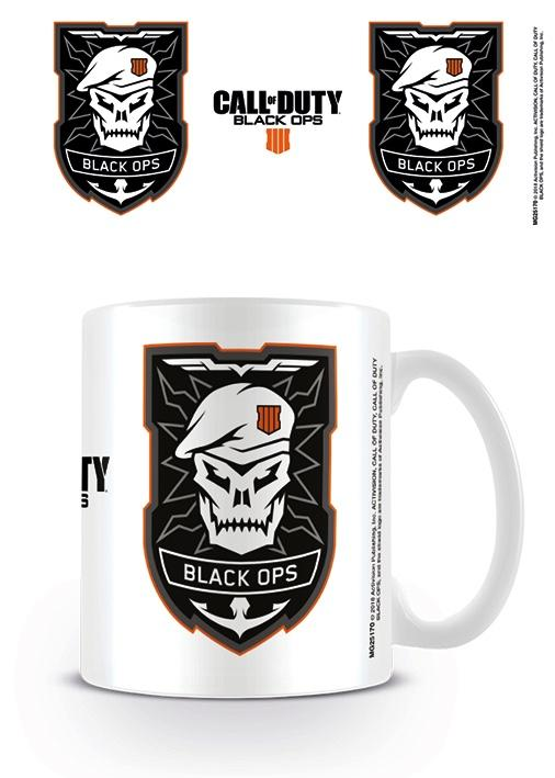 CALL OF DUTY BLACK OPS 4 - Mug - 315 ml - Logo