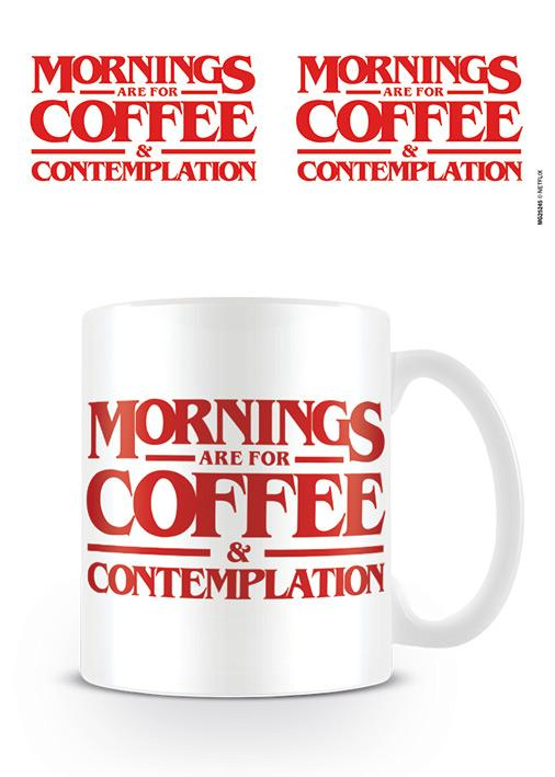 STRANGER THINGS - Mug - 315 ml - Coffee & Contemplation