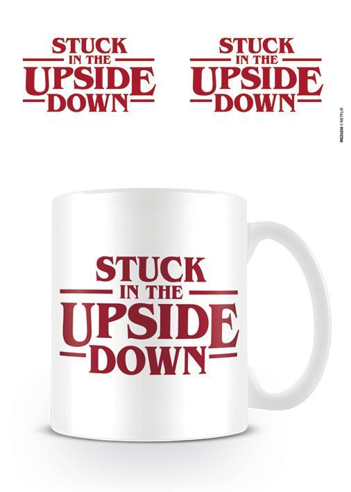 STRANGER THINGS - Mug - 315 ml - Stuck In The Upside Down