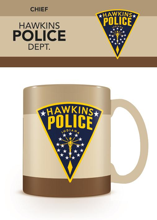 STRANGER THINGS - Mug - 315 ml - Hawkins Police